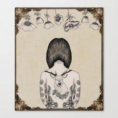 something flowery  Canvas Print