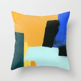 color and form 18-01 Throw Pillow