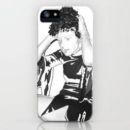 Wig iPhone Case