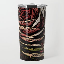 Cabbage Woodcut Travel Mug