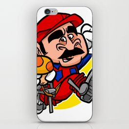Super Plumber iPhone Skin