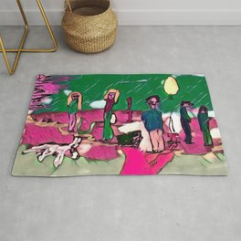 The robber Rug