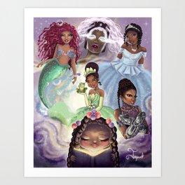 Dream In Color Art Print