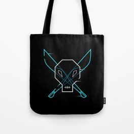 Cyber Pirate Tote Bag
