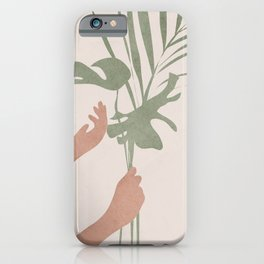 Leafs iPhone Case