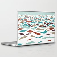 laptop Laptop & iPad Skins featuring Sea Recollection by Efi Tolia