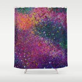 Purple Galaxy 2 Shower Curtain