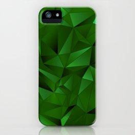 Rough Gems ~ Emerald iPhone Case
