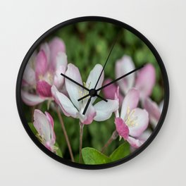 Spring Daintiness Wall Clock