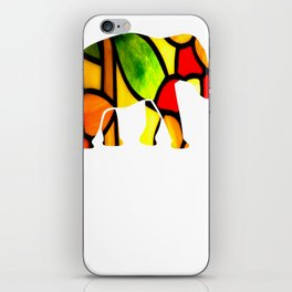 Gift for Elephant Lovers Never Forget iPhone Skin