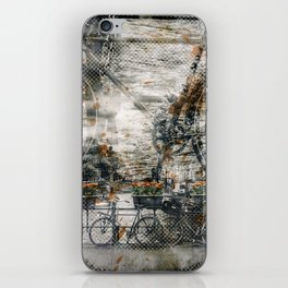 City-Art AMSTERDAM Bicycles iPhone Skin