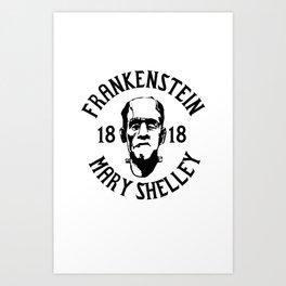 Frankenstein - 1818 Art Print