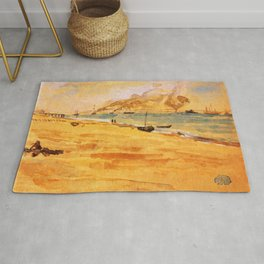 Study For Mouth Of The River 1877 By James Mcneill Whistler | Reproduction Rug
