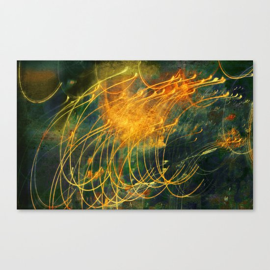 Light/Motion Long Exposure Study - #6 Canvas Print