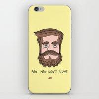beard iPhone & iPod Skins featuring Beard by My Big Fat Brand