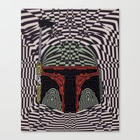 boba Canvas Prints featuring Boba Effect by Fabian Gonzalez