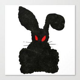 Halloween Horror - Harvey Rabbit Canvas Print