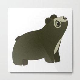 Oso de Anteojos / Andean Bear Metal Print