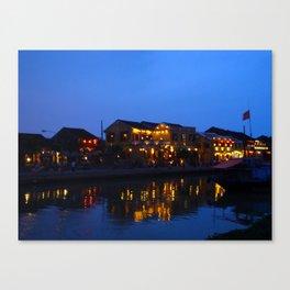 Hoi Ann Reflected Canvas Print