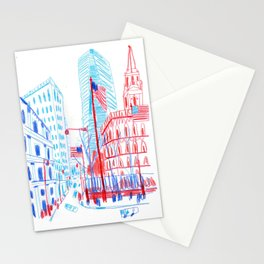 New York One World Trade Stationery Cards