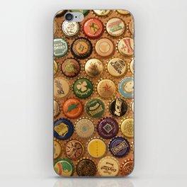 Bottle Caps iPhone Skin
