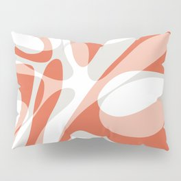 Coral Wave Pillow Sham