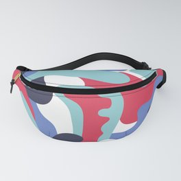 Camo Art Abstract Design Fanny Pack