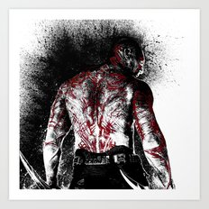 Drax the Destroyer Art Print