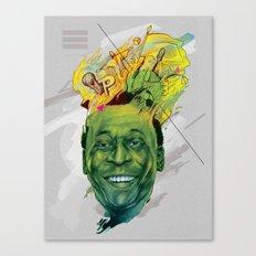 Rey Pele Canvas Print