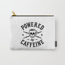 Powered By Caffeine Carry-All Pouch