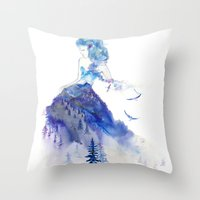 jazz Throw Pillows featuring Jazz by Oladesign