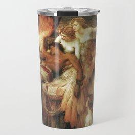 Mourning for Icarus - Draper Herbert James Travel Mug