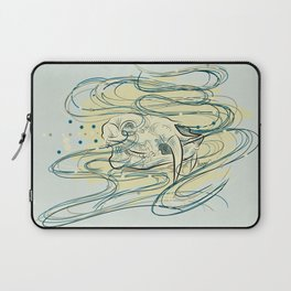 Soul of a Chinese Water Deer Laptop Sleeve