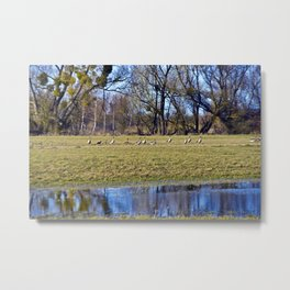 POETRY of WILDNESS Metal Print