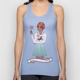 Sweeter Than Candy Unisex Tank Top