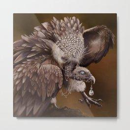 Necrophagy: Himilayan Vulture Metal Print