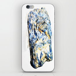 Kyanite crystall Gemstone iPhone Skin