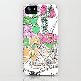 Camelia iPhone Case