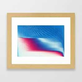 0V3RT4K3 Framed Art Print