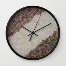 Connecting the Dots Wall Clock
