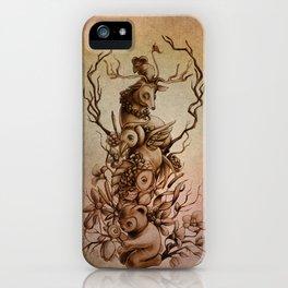 Cute Totem iPhone Case