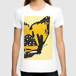 Yellow Butterfly T-shirt