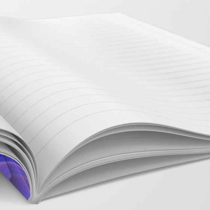 Four points geometric pattern design Notebook