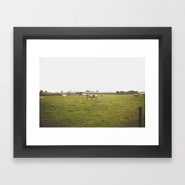 german border Framed Art Print