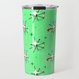 Mint Atomic Stars Travel Mug