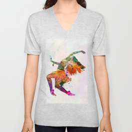 dancing to the night Unisex V-Neck