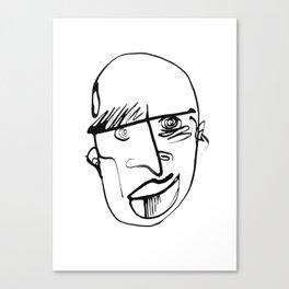 FACES / 001 Canvas Print