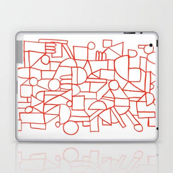 Rad lines Laptop & iPad Skin
