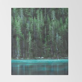 Forest 3 Throw Blanket
