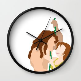 Tarzan and Jane Wall Clock